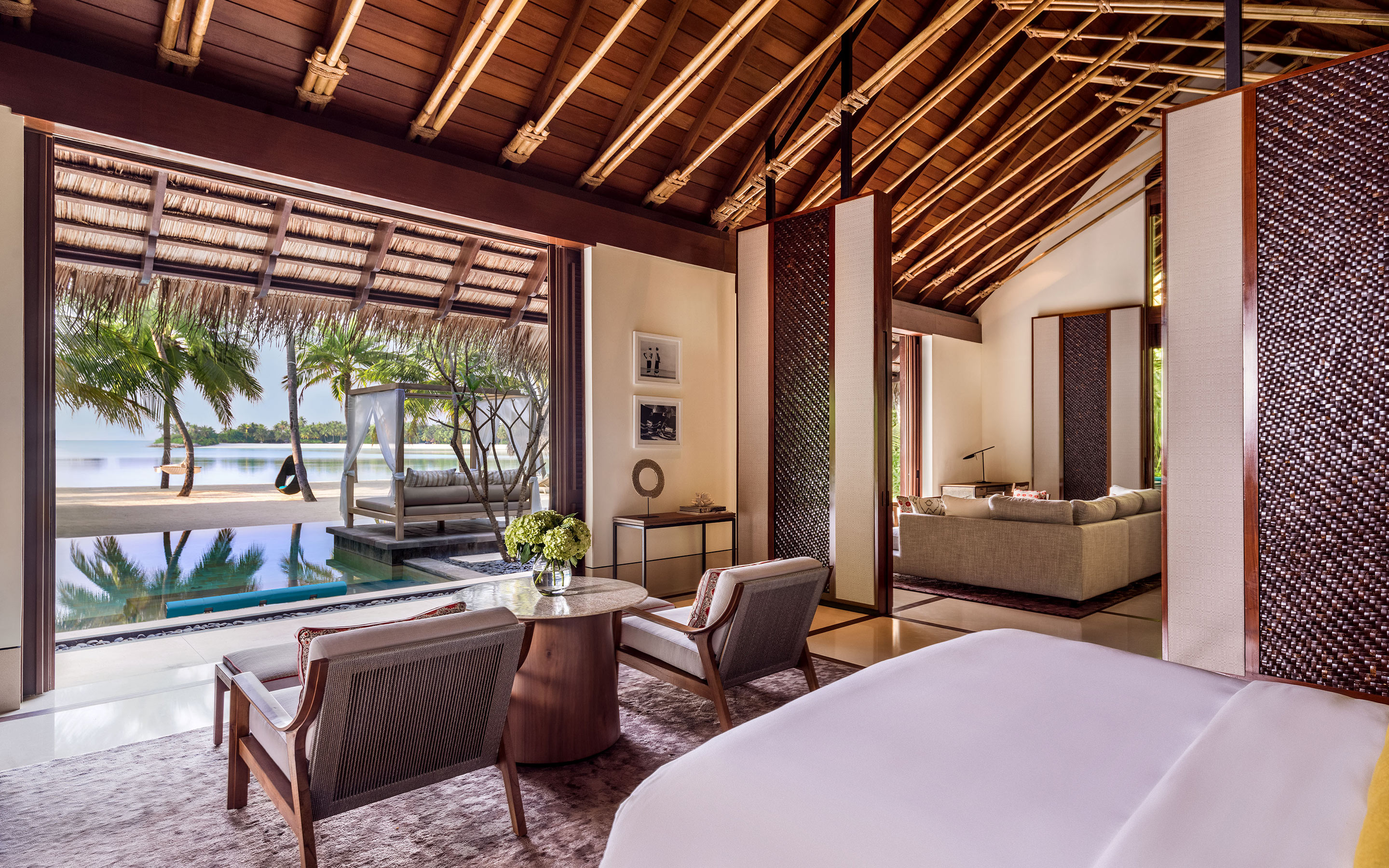 One Only Reethi Rah Grand Beach Villa With Pool